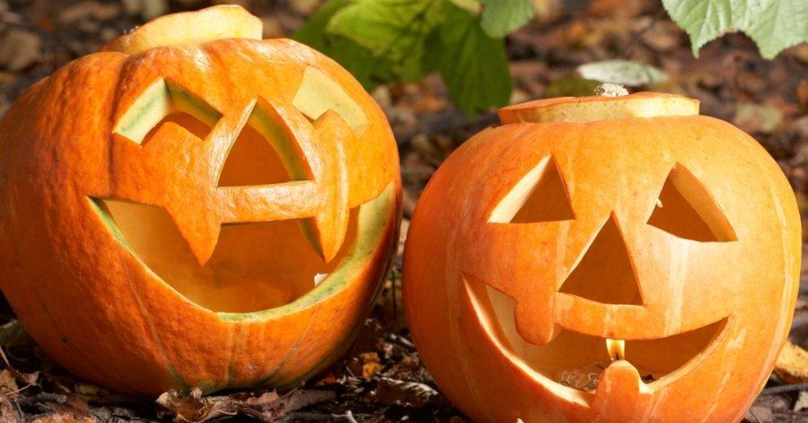Как украсить дом хеллоуин