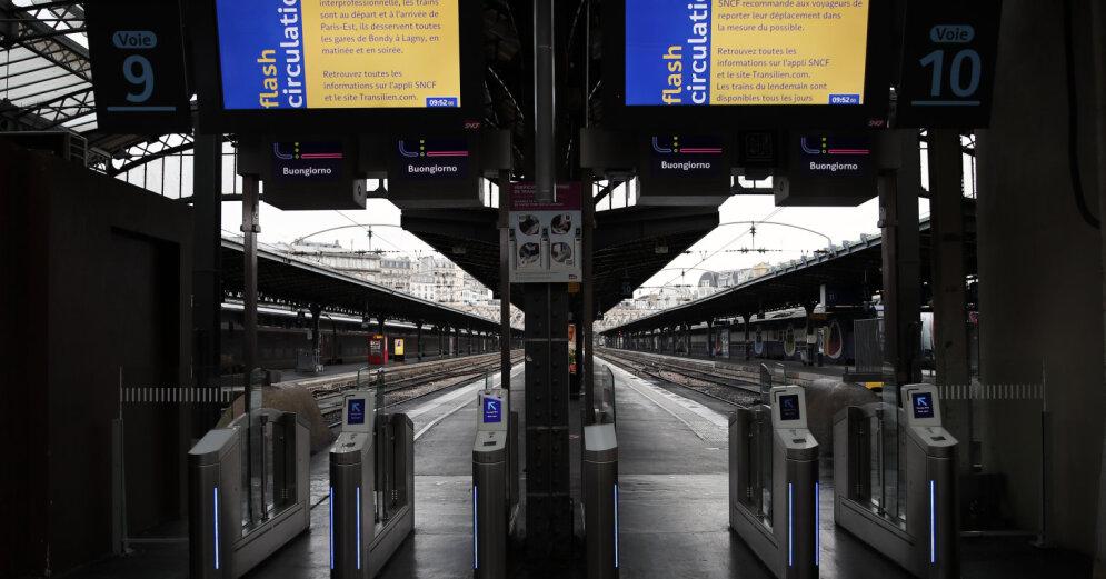 Железнодорожники Франции требуют прекратить пенсионную реформу