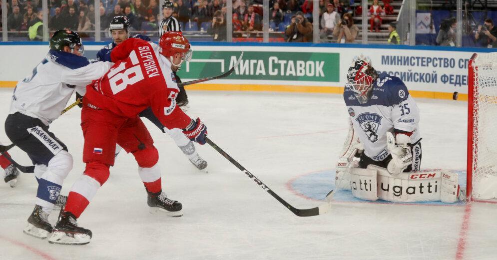 Хоккей подкачал, но атмосфера - крутая. Россия победила при 67 тысячах зрителей