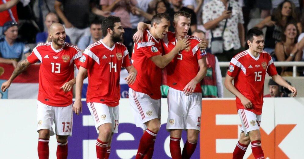 Дзюба и Черышев прокомментировали поражение сборной России в матче с Бельгией
