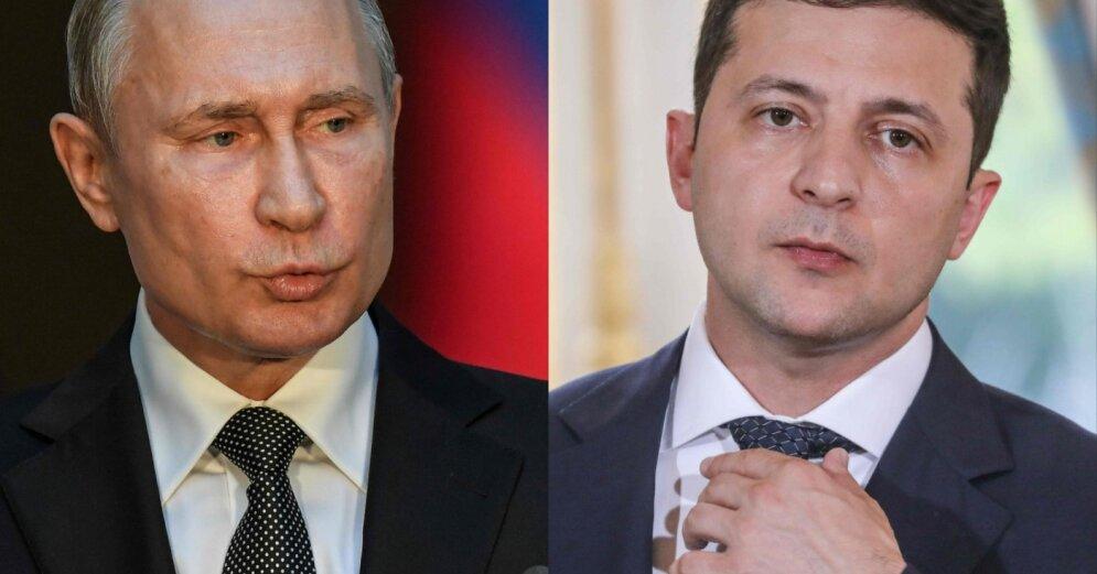 Ушаков: Киев запросил у Москвы встречу Зеленского с Путиным в Израиле