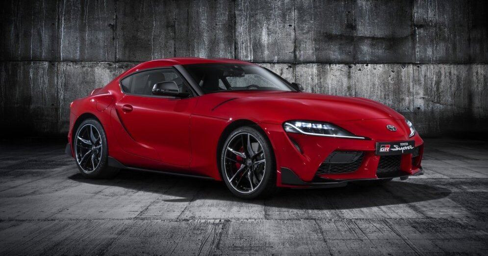 138e7c41704b Toyota introduces the new generation Supra at the current Detroit  automotive show. The new car was developed on a common platform with the  new BMW Z4 and ...