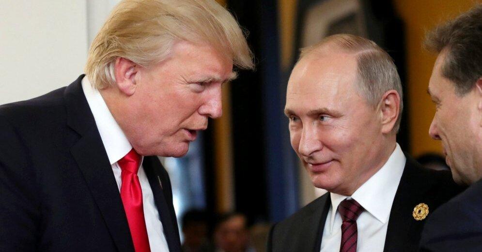 Пользователи соцсетей не смогли пропустить встречу Трампа и Путина (ФОТОЖАБЫ)