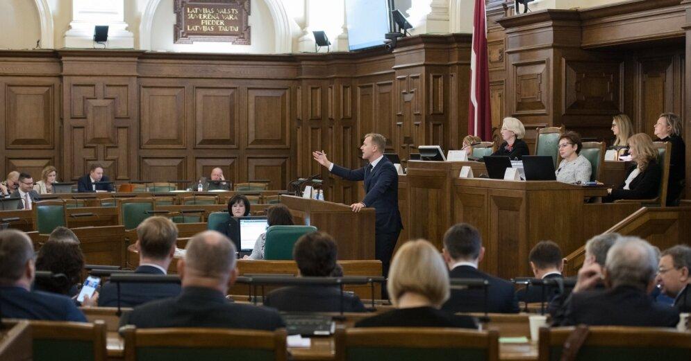 Собрано 10 000 подписей за уменьшение числа депутатов Сейма