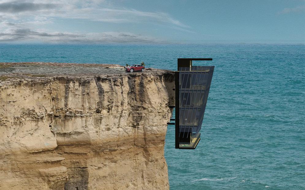 Пятиэтажный дом над океаном для любителей экстремально потрясающих видов