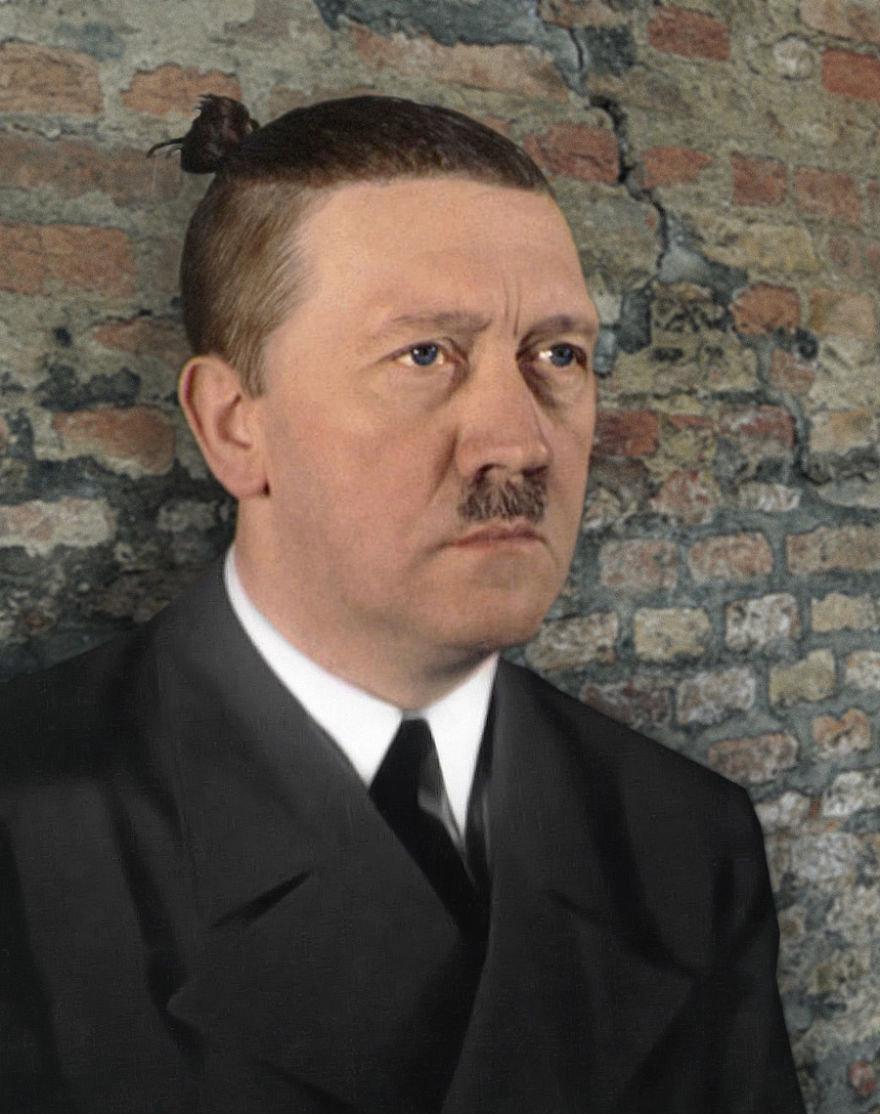 Путин, Обама и Гитлер превратились в хипстеров