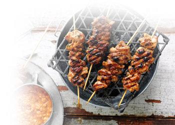 Шашлык и другие блюда на гриле