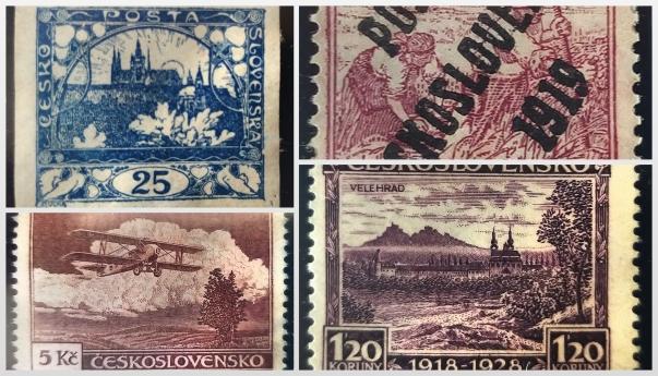Čehoslovākijas pastmarkas