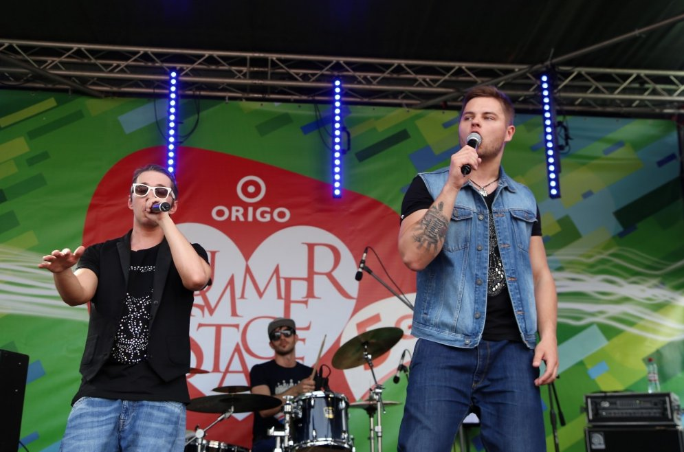 Musiqq и Otra puse в пятый раз открыли Origo Summer Stage