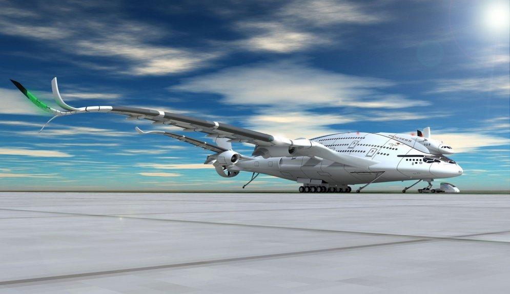 Nākotnes aviācija: kā lidmašīnas izskatīsies 2030. gadā