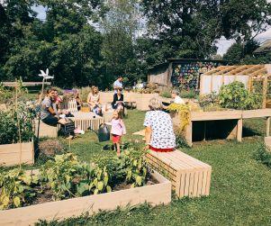 Pilsētvides kopienas dārzs